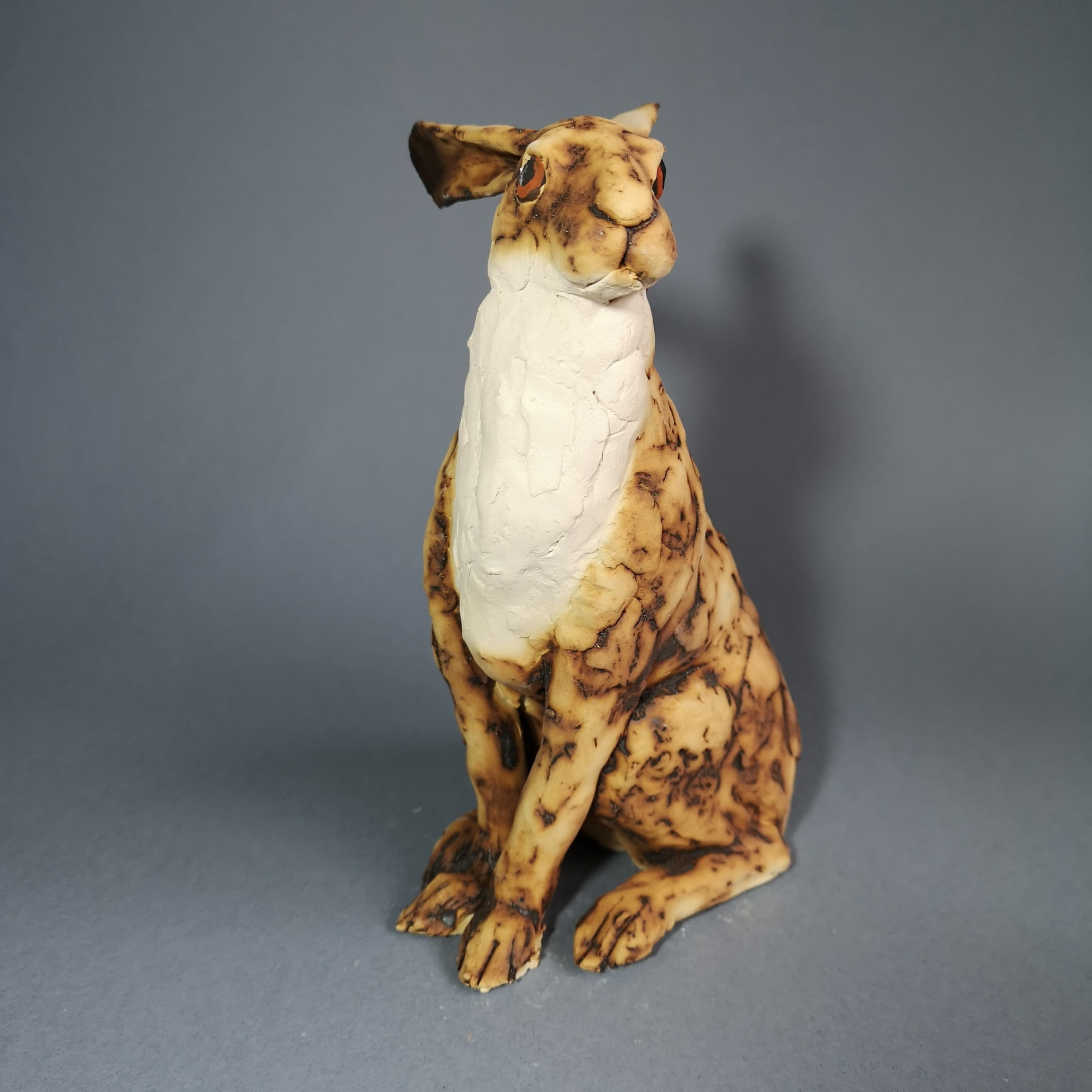 limited edition ceramic hare