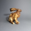 ceramic sitting hare