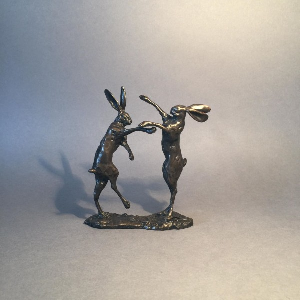 small boxing hares